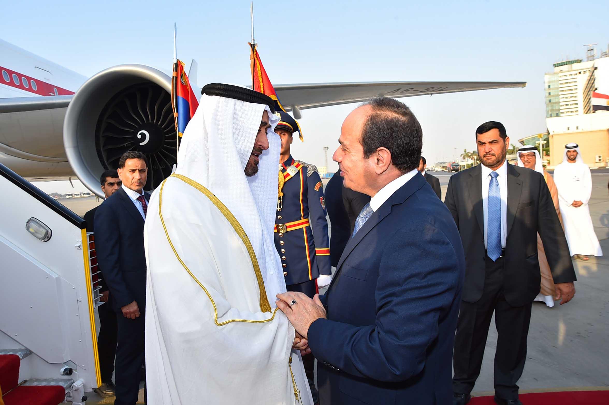 السيسى ومحمد بن زايد (1)