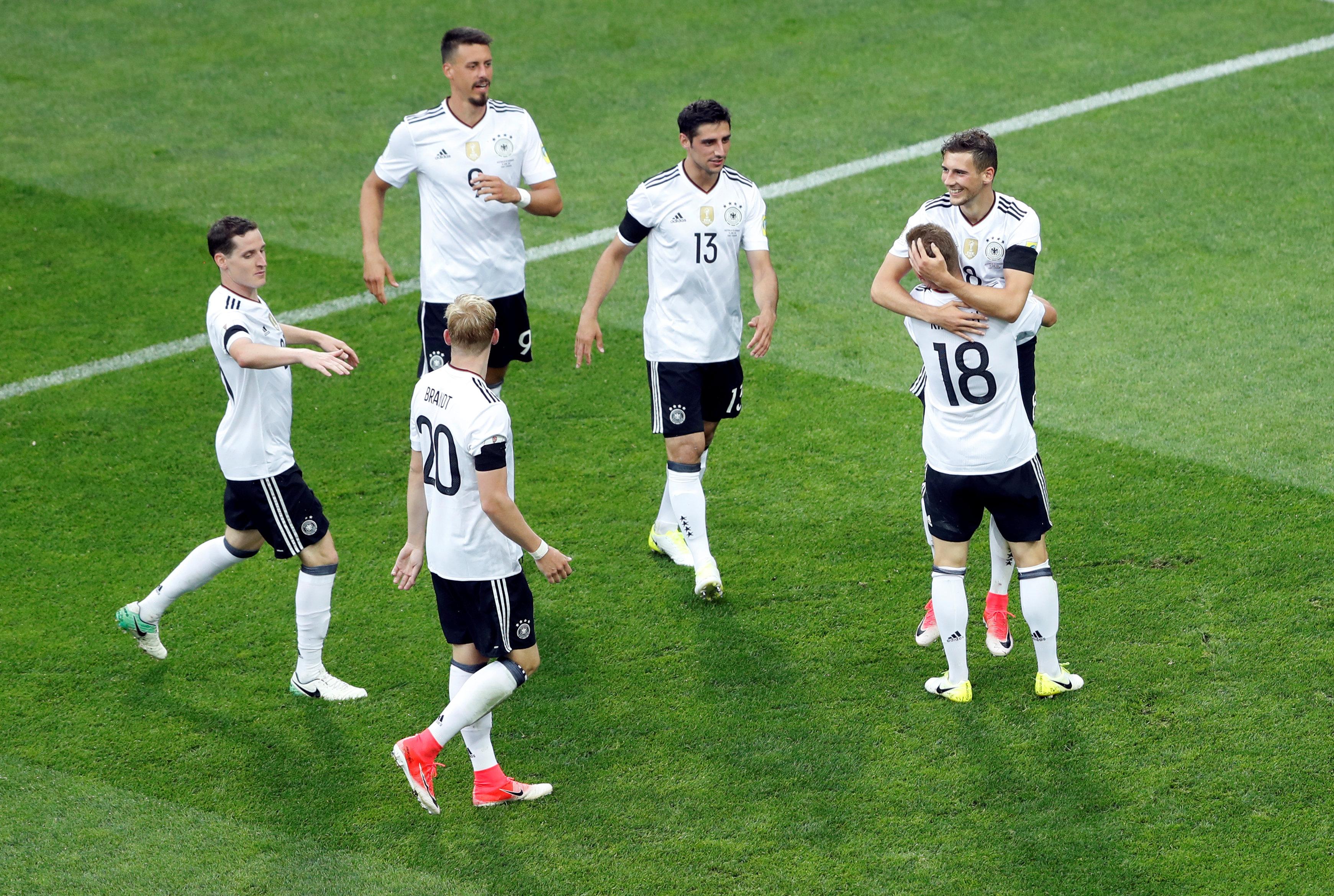 ألمانيا تفتتح مشوارها بثلاثية فى أستراليا