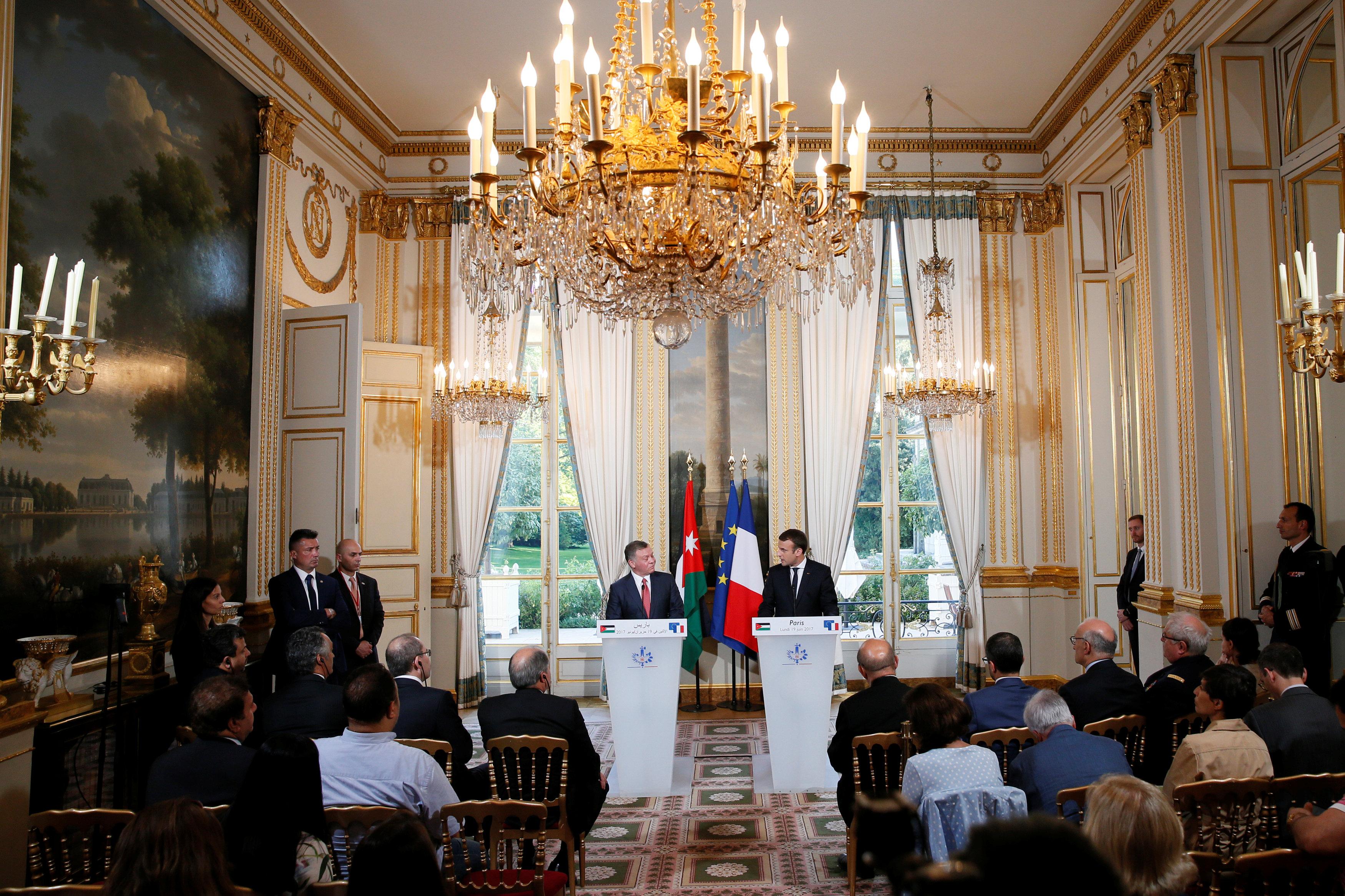 مؤتمر صحفى مشترك فى باريس
