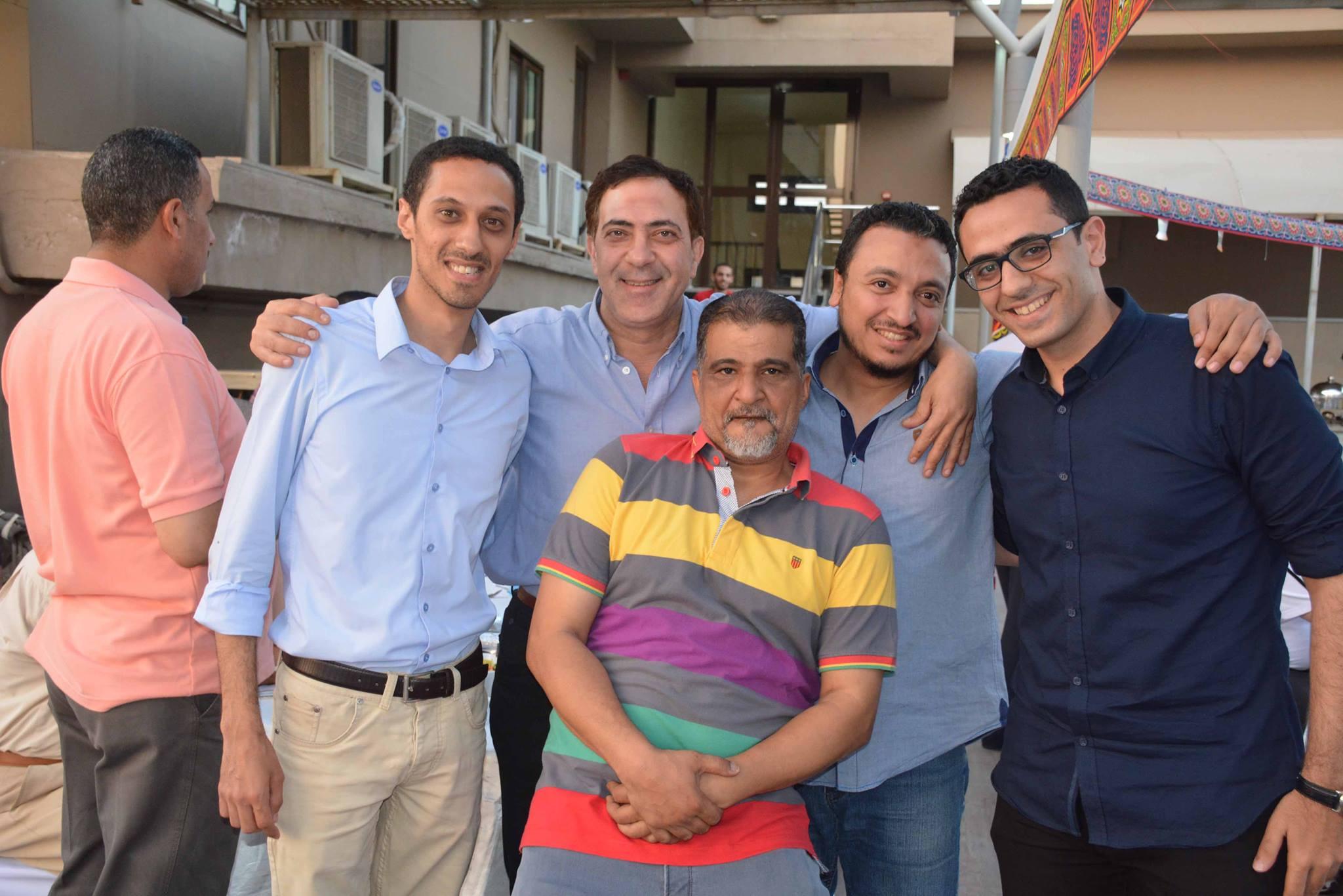 الماشطة ومحمد عبد التواب فى الاحتفالية