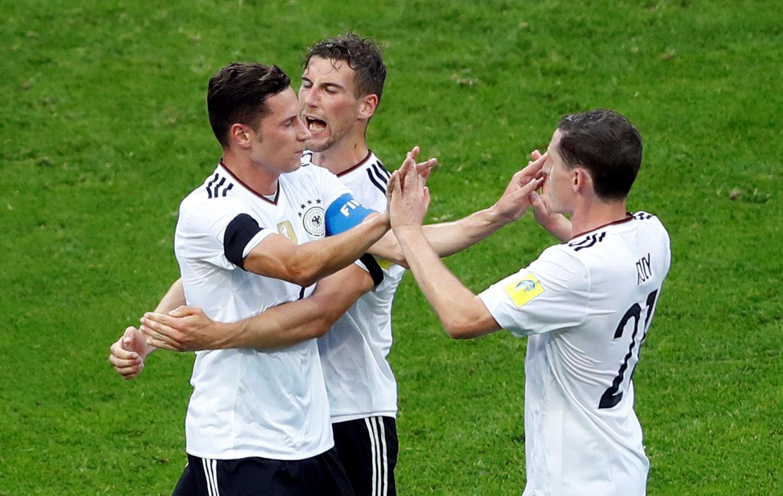 احتفال نجوم ألمانيا