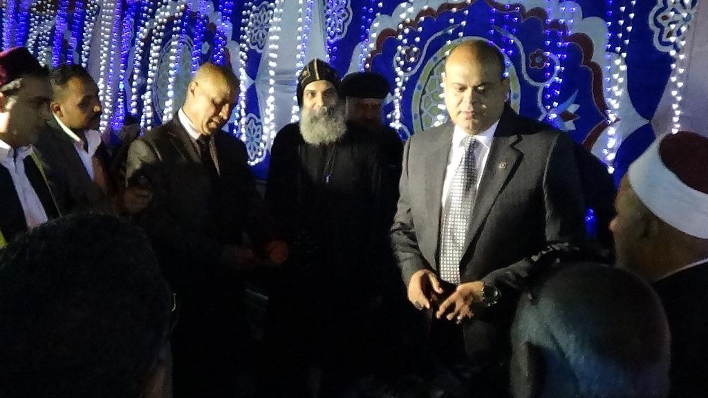 مديرية امن مطروح تنظم افطارا وليلة رمضانية (7)