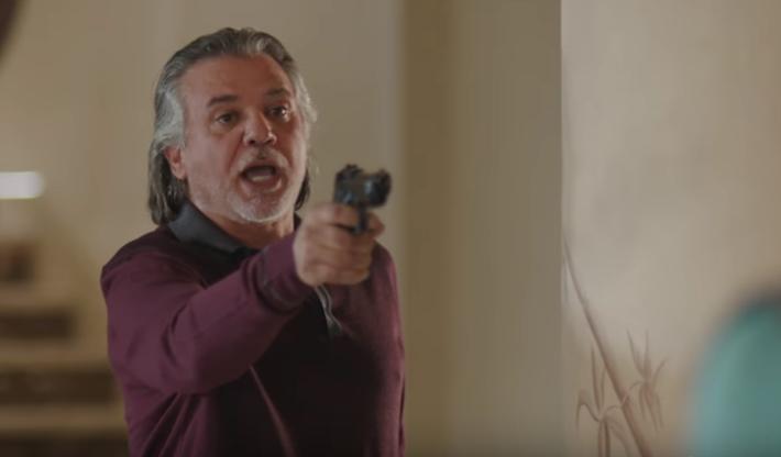 ناصر سيف فى مشهد من الحلقة
