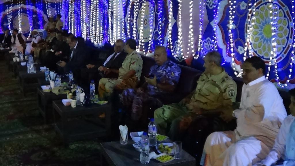 مديرية امن مطروح تنظم افطارا وليلة رمضانية (6)