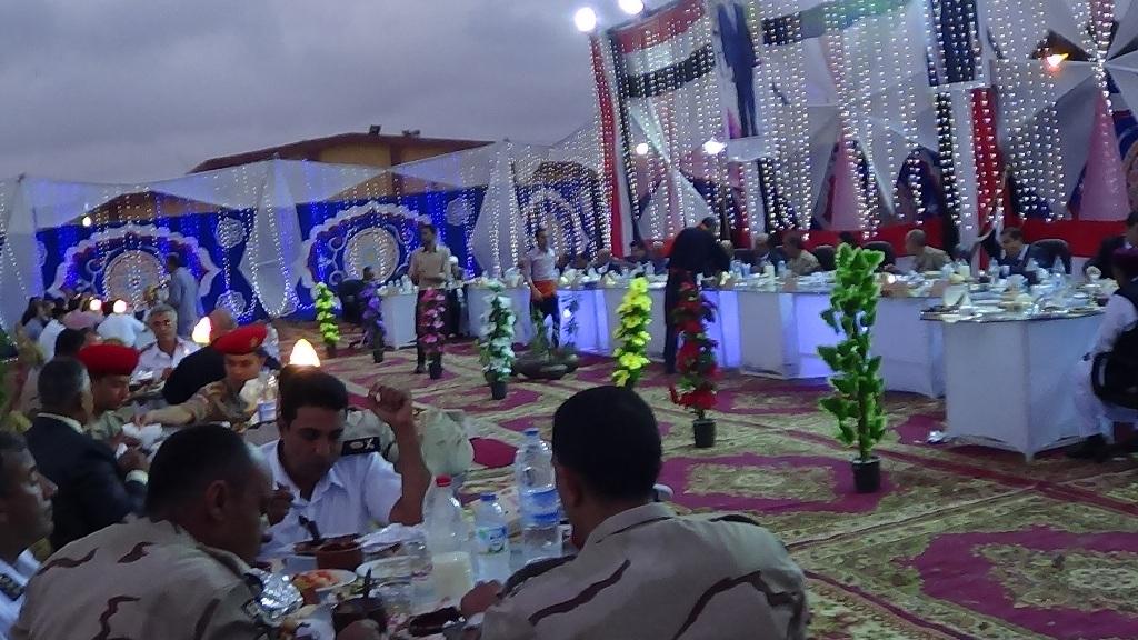 مديرية امن مطروح تنظم افطارا وليلة رمضانية (5)