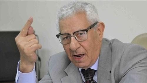 مكرم محمد أحمد رئيس الأعلى للاعلام