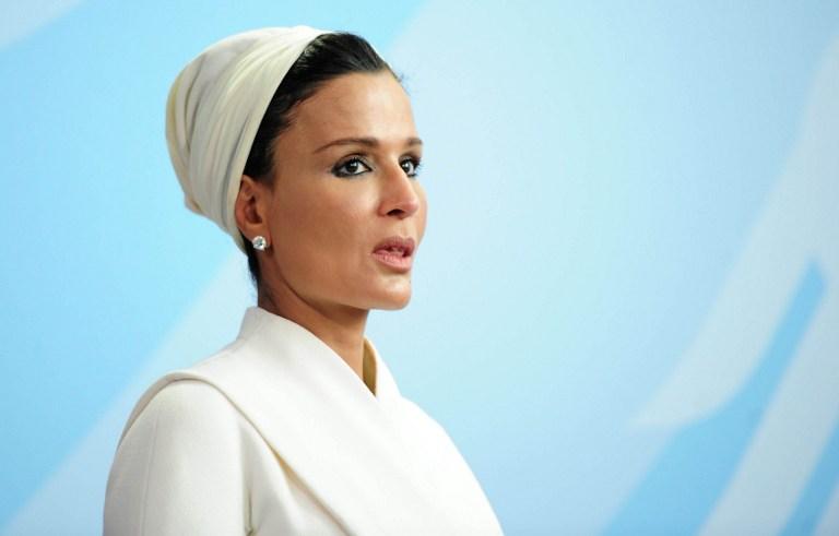 موزة المسند والدة أمير قطر