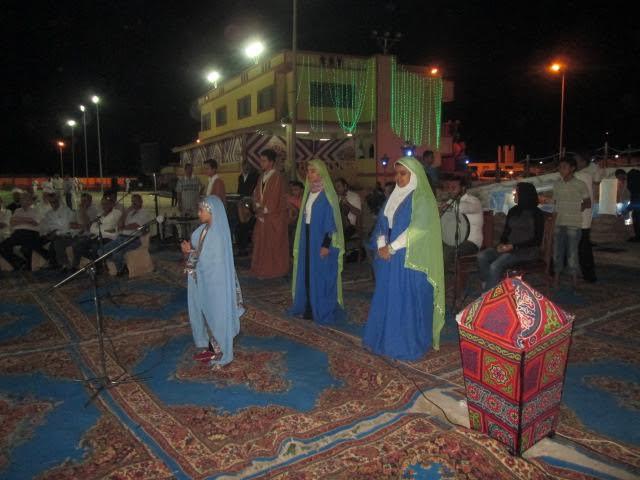 عرض مسرحية الحضرة الذكيه على مسرحية ثقافة جنوب سيناء (1)