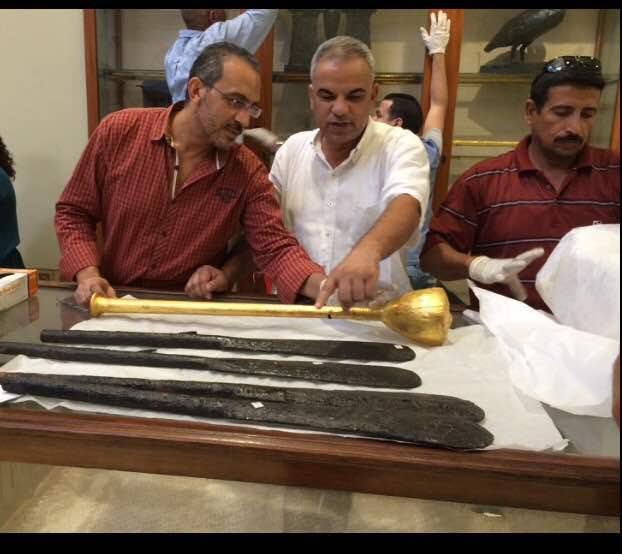 المتحف المصري الكبير يستقبل مجموعة جديدة من أثارالملك توت عنخ امون (3)