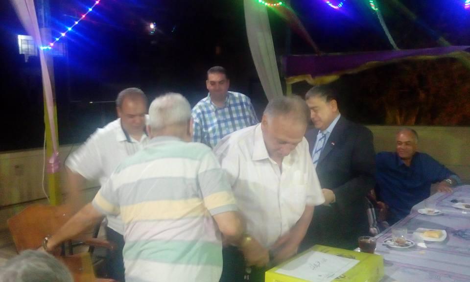غزل المحلة يكرم رموز النادي فى حفلة افطار  (4)