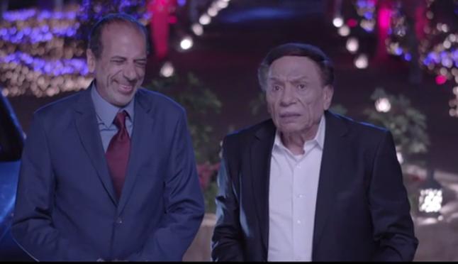 محمد الصاوى مع الزعيم فى المسلسل
