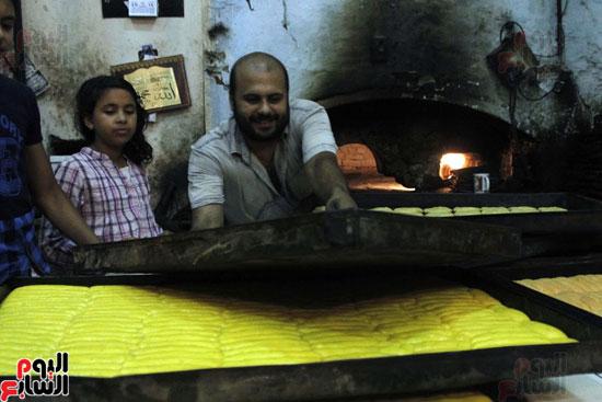 تسوية--كعك-العيد-في-الأفران-القديمة----تصوير-محمد-عوض--(2)