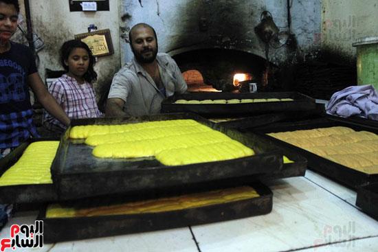 تسوية--كعك-العيد-في-الأفران-القديمة----تصوير-محمد-عوض--(1)