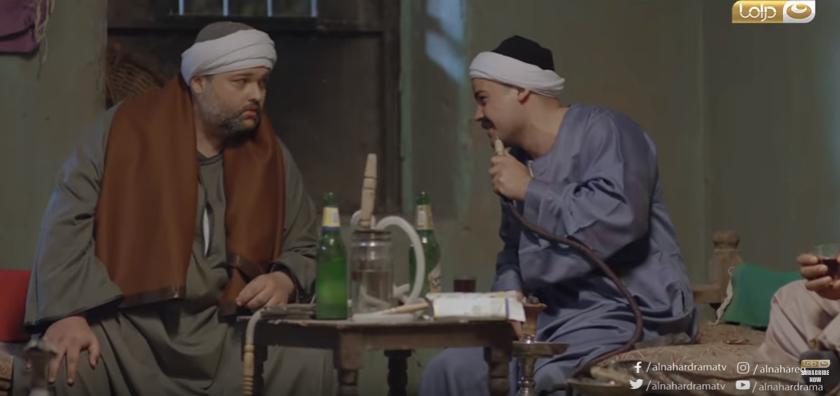 محمد محمود عبد العزيز وعمرو صحصاح فى مسلسل طاقة نور (1)