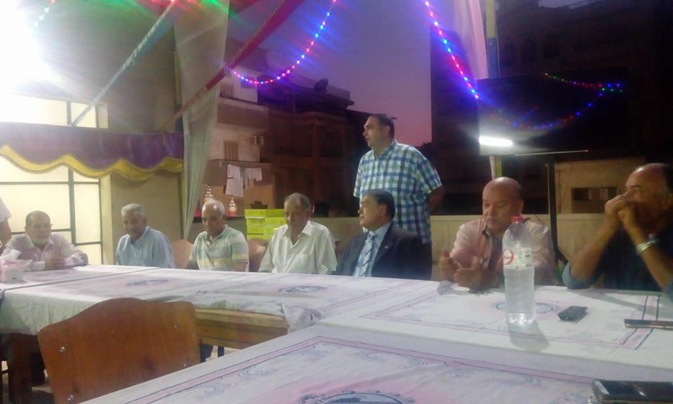 غزل المحلة يكرم رموز النادي فى حفلة افطار  (1)