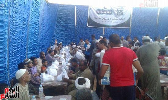 مائدة مصر الخير بمدينة الطود يوميا بالاقصر