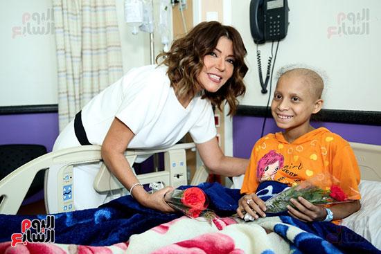 سميرة-سعيد-تزور-مستشفى-سرطان-الأطفال-(5)