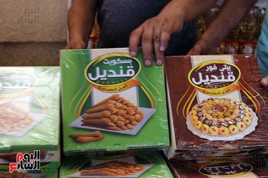 تموين-الإسماعيلية--يطرح-حلوي-العيد-ومواد-غذائية--باسعار-مخفضة----تصوير--محمد-عوض--(4)
