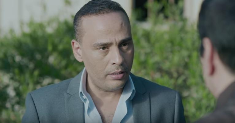 محمود عبد المغنى فى مشهد من الحلقة