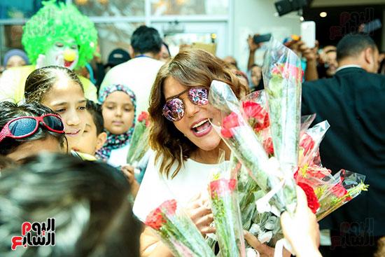سميرة-سعيد-تزور-مستشفى-سرطان-الأطفال-(9)