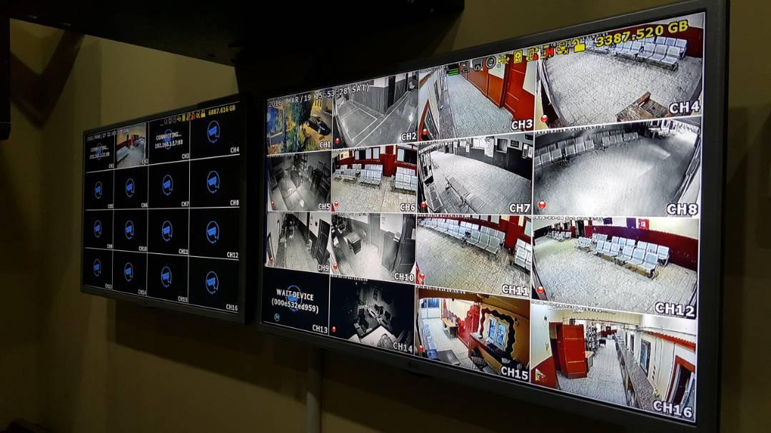 مرور قنا يعلن تركيب كاميرات مراقبة بمكاتب التراخيص (2)