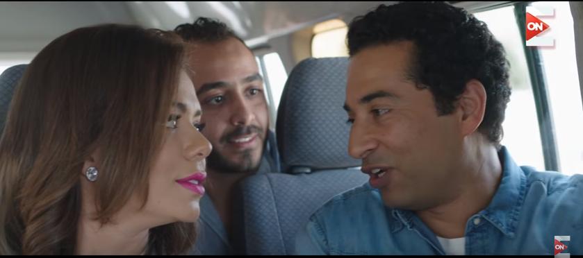 بالصور إيمى سالم مفاجأة رمضان فى دور المذيعة سناء المصرى
