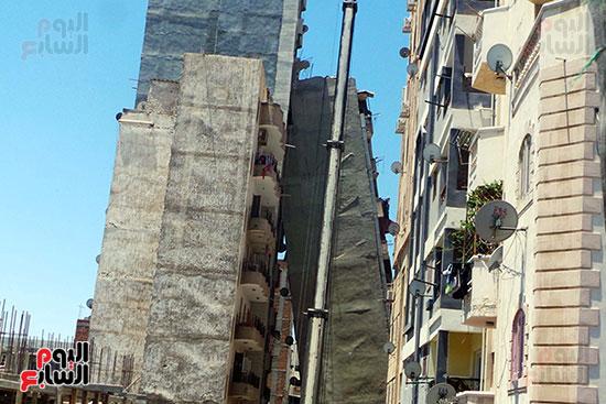 العمارة المائلة بالإسكندرية