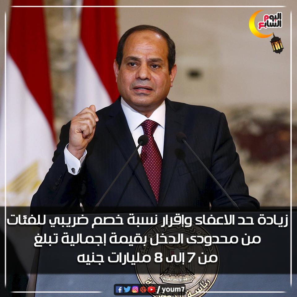 عيديه الرئيس السيسى للمصريين (1)