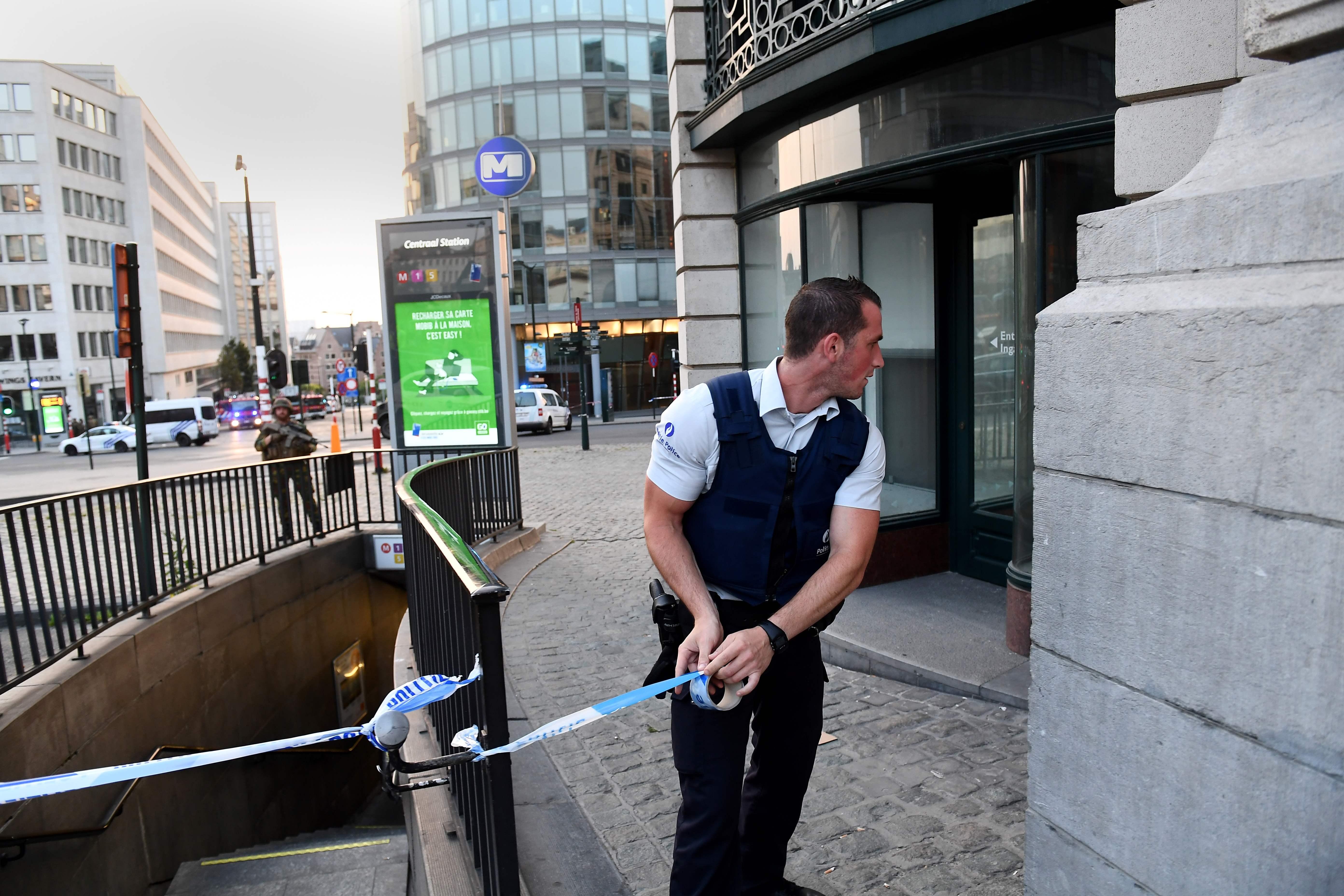 إجراءات أمنية مشددة فى بروكسل