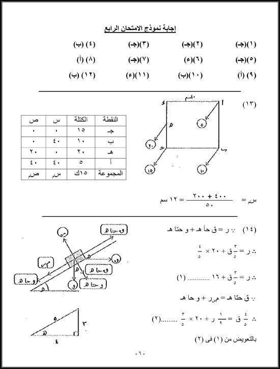 مادة الاستاتيكا (6)