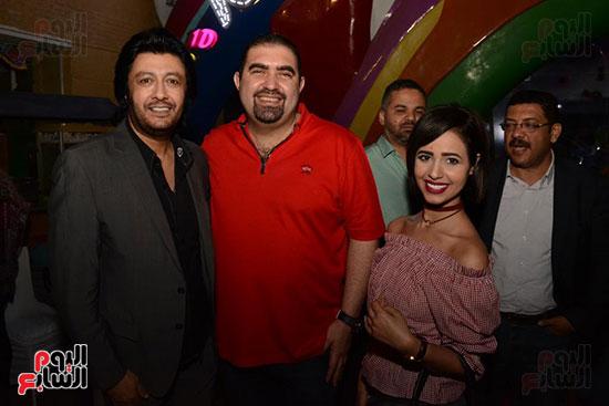 الوزراء ونجوم الفن والإعلام فى سحور المنتج ياسر سليم (38)
