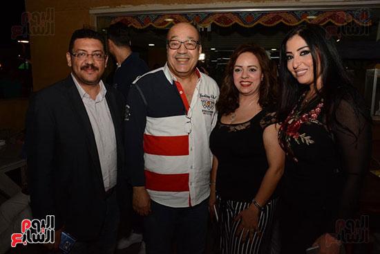 الوزراء ونجوم الفن والإعلام فى سحور المنتج ياسر سليم (39)
