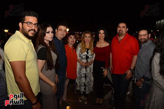 الوزراء ونجوم الفن والإعلام فى سحور المنتج ياسر سليم (33)