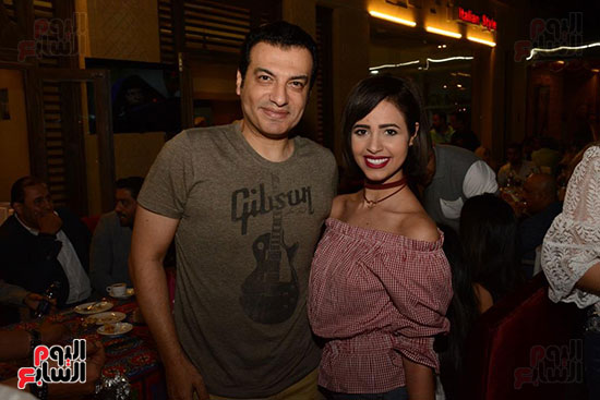 الوزراء ونجوم الفن والإعلام فى سحور المنتج ياسر سليم (41)