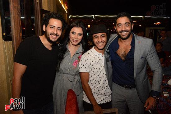 الوزراء ونجوم الفن والإعلام فى سحور المنتج ياسر سليم (34)