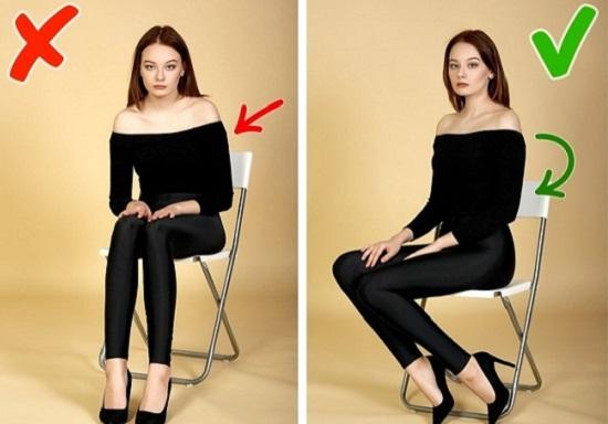 الصور اثناء الجلوس