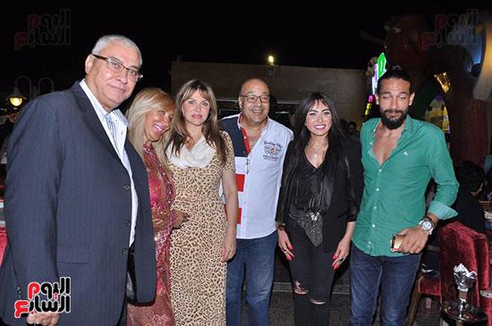 الوزراء ونجوم الفن والإعلام فى سحور المنتج ياسر سليم (6)