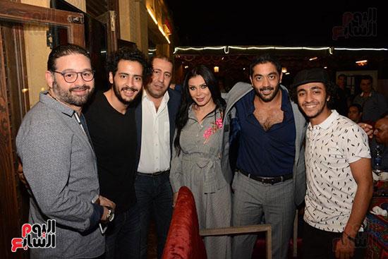 الوزراء ونجوم الفن والإعلام فى سحور المنتج ياسر سليم (35)