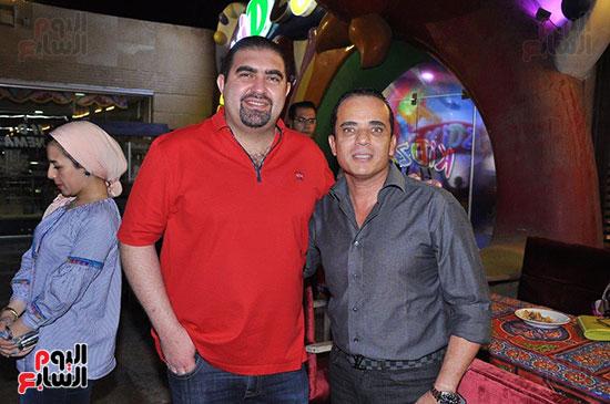 الوزراء ونجوم الفن والإعلام فى سحور المنتج ياسر سليم (54)