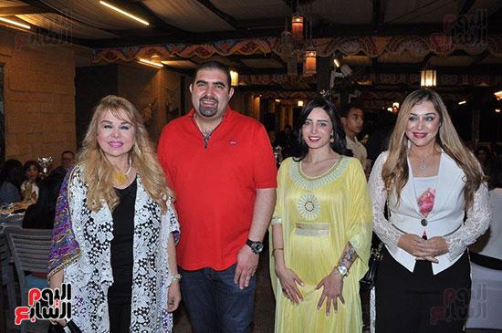 الوزراء ونجوم الفن والإعلام فى سحور المنتج ياسر سليم (55)