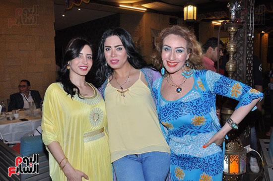 الوزراء ونجوم الفن والإعلام فى سحور المنتج ياسر سليم (58)