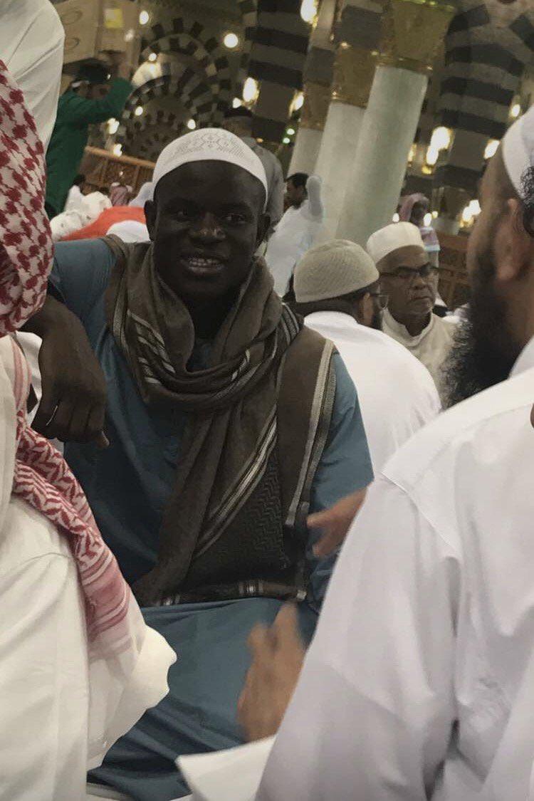 كانتى فى المسجد النبوى