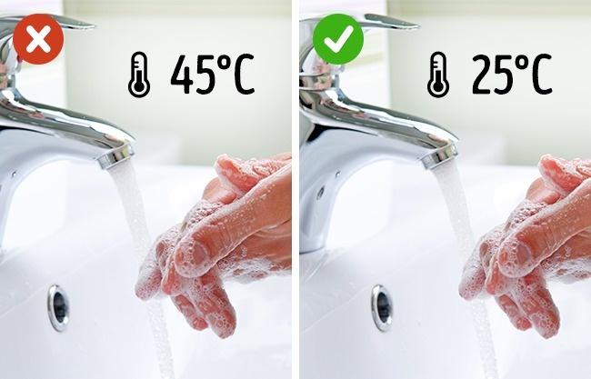 استخدام المياه البارده