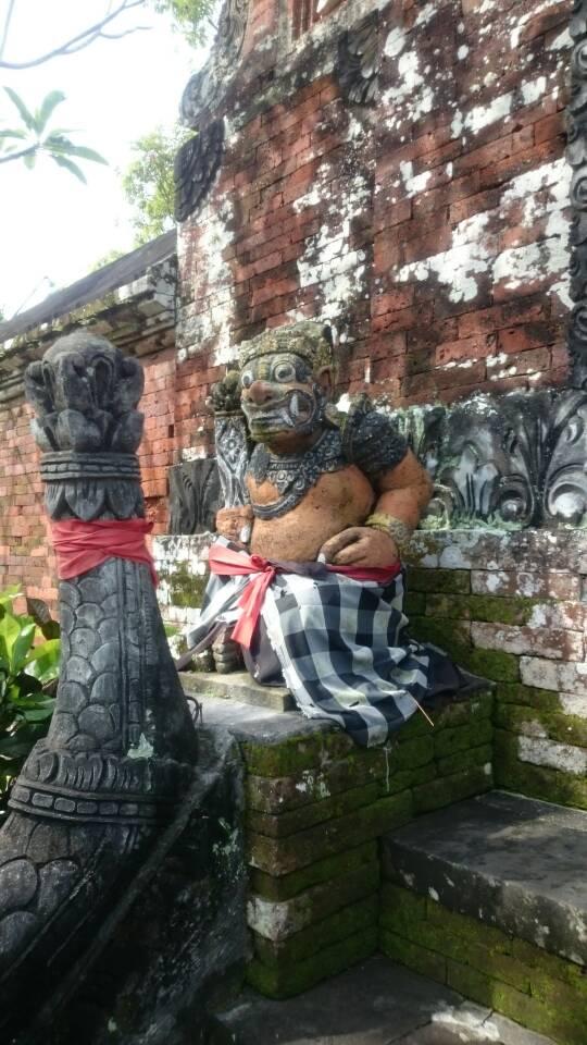 معبد هندوسى فى الجزيرة