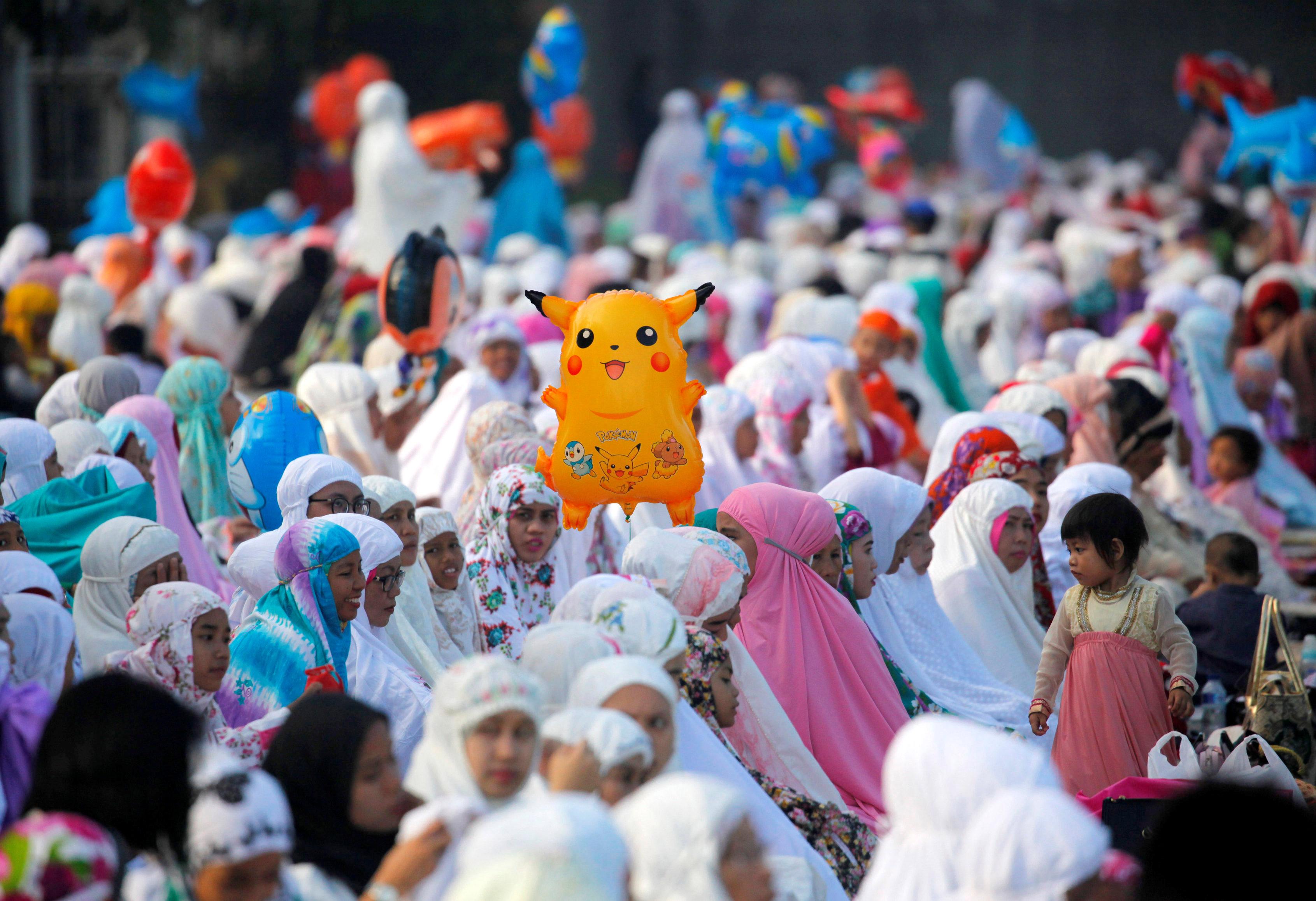 الصلاة فى اندونيسيا