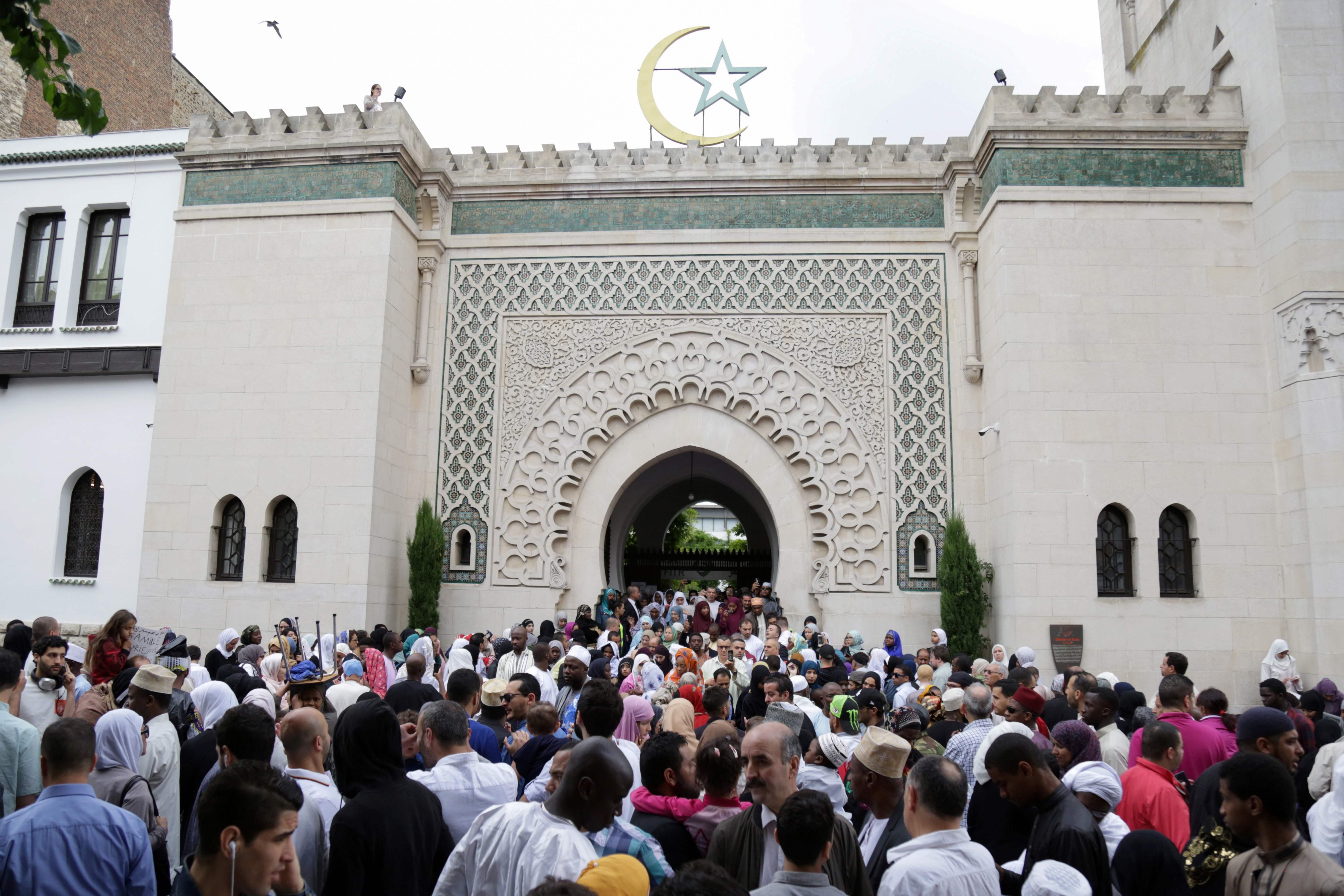 المسجد الكبير بفرنسا