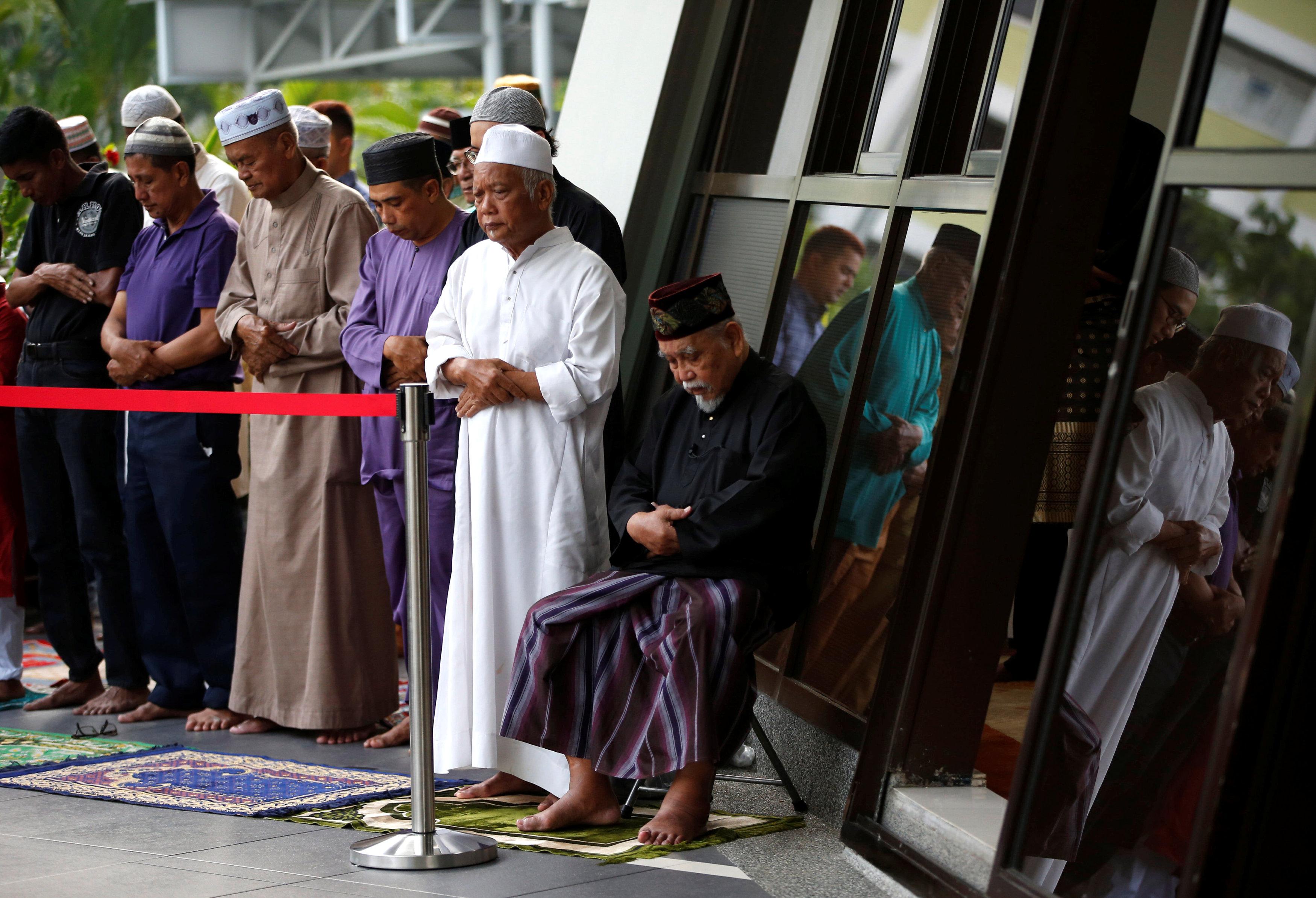 صلاة العيد فى سنغافورة