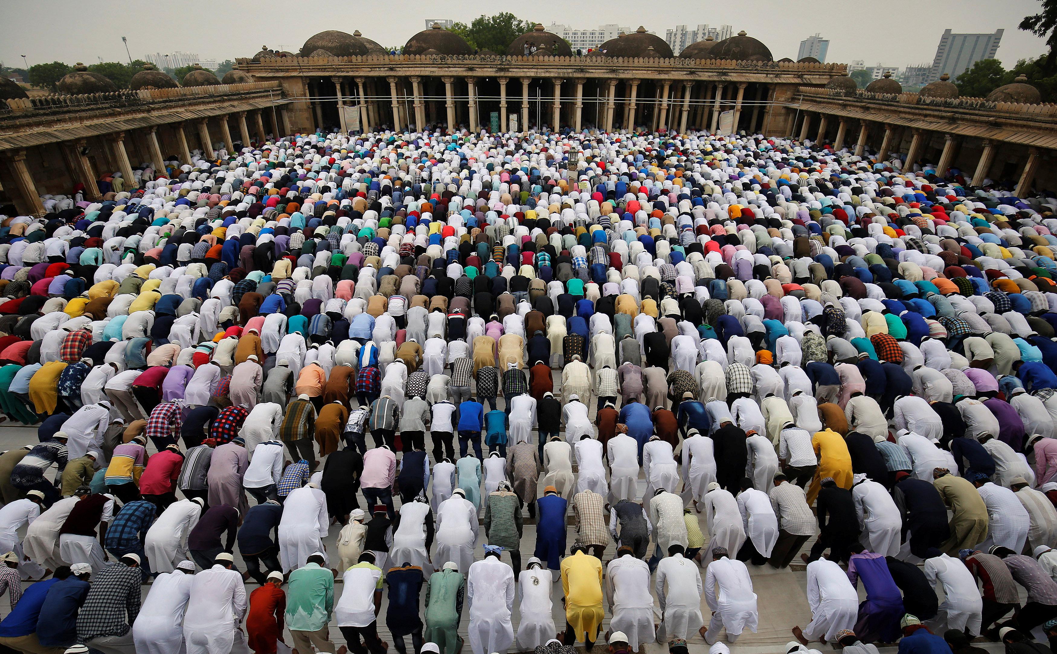 صلاة العيد فى الهند