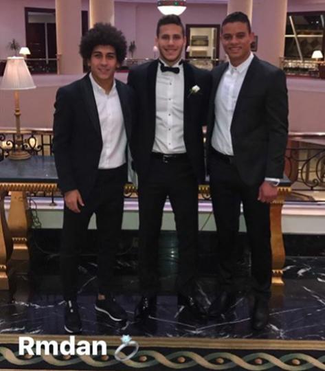 صور زفاف حبيبة ورمضان و صور سعد سمير وحسين السيد مع رمضان