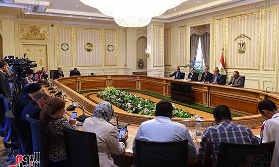 مؤتمر صحفى لرئيس الوزراء (11)